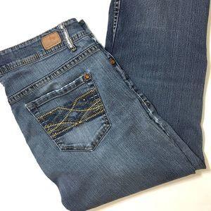 JORDACHE Bootcut Denim Jeans Size 6